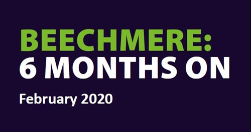 Beechmere 6 months on newsletter