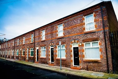 Anfield terraced houses